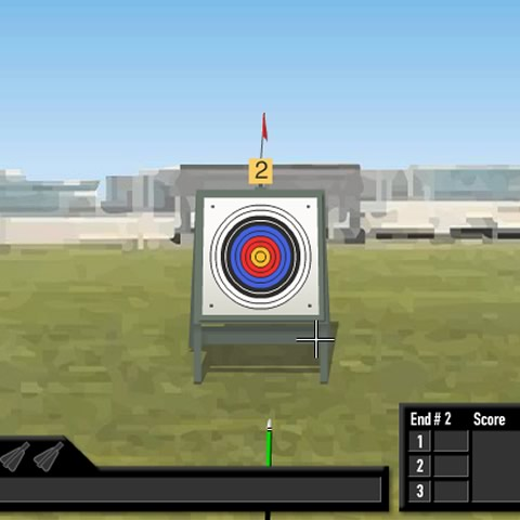 Beijing Olympics archery game