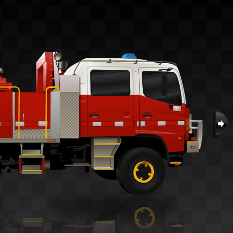 Country Fire Authority truck