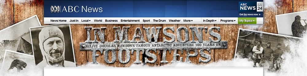 In Mawson's Footsteps